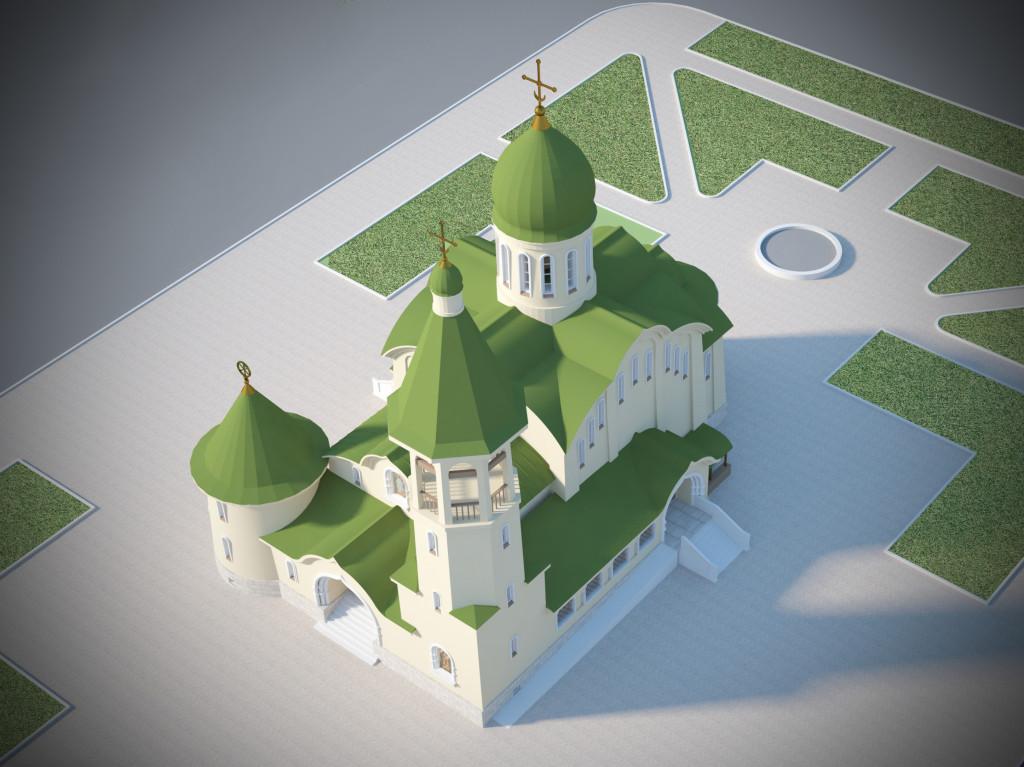 Чертежи На Проект Храма